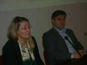Pomoćnica ministra poduzetništva i načelnik Sani