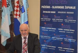Ante Šolić, predsjednik GO HDZ Požega