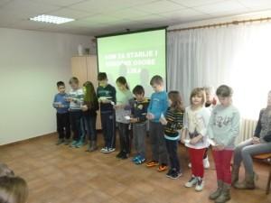 Dom u Velikoj - recitacije djece štičenicima