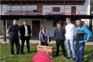 Donacija Željke Antunović NK Vetovo
