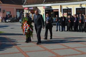 Izaslanstvo županije, župan Tomašević sa zamjenicima Jakopovićem i Trohom
