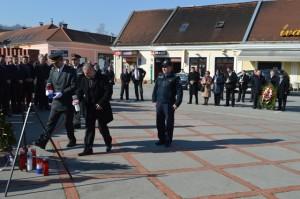 Izaslanstvo Hrvatske vojske i policije