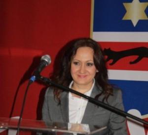 Josipa Miličević za govornicom 2