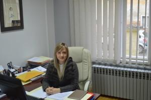 Martina Vlašić ravnateljica Centra za soc.skrb Požega