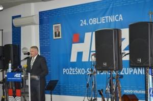 Obilježavanje 24. obljetnice HDZ-a u Požegi - Franjo Lucić