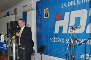 Obilježavanje 24. obljetnice HDZ-a u Požegi - Tomislav Karamarko