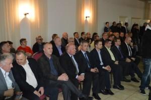 Obilježavanje 24. obljetnice HDZ-a u Požegi, gradonačelnici i načelnici općina