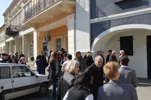 Otvorenje privremenog muzejskog postava