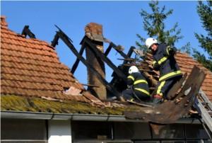 Požar u Vlatkovcu 20.3.2014.