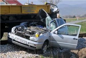 Prometna nesreća u Trenkovu 14.3.2014.