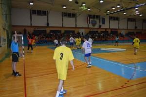 RK POŽEGA utakmica 1.3.2014. napad ivančice