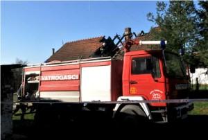 Vatrogasno vozilo DVD-a Čaglin