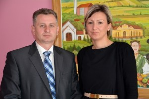 Antonia Jozić i Željko Pavlović