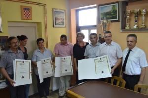 Dodjela diploma majstorima 30.7.2014.