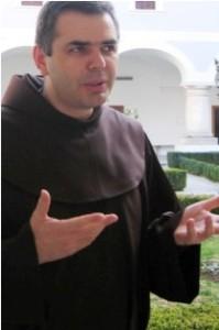 fra Milan Krišto, novi gvardijan Franevačkog samostana Požega
