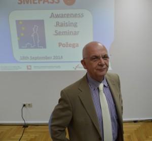 Stephen O Mullan, voditelja projekta SMEPASS-a