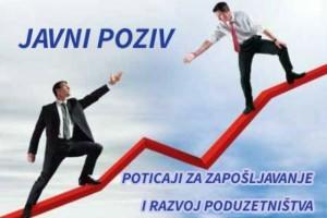 Javni poziv za zapošljavanje i poduzetništvo