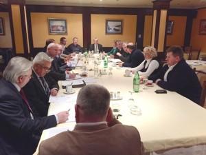 Sjednica Upravnog odbora Udruge općina 27.1.2015