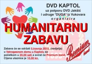 Plakat za humanitarnu zabavu DVD-a Kaptol (Mobile)