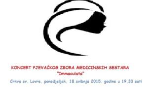 Koncert zbora medicinskih sestara