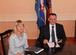 Župan Tomašević i pročelnica Vlašić