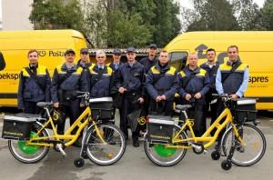 Električni bicikli poštari - Copy