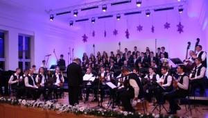 Koncert u glazbenoj školi Liga protiv raka, kronika slika