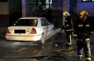 požar auta